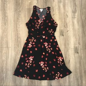 NEW ⭐️ Black Floral Dress